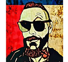 Justin Furstenfeld Texas Flag #2 by Jason westwood
