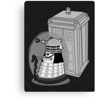 Daleks in Disguise - First Doctor Canvas Print