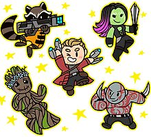 Guardians of the Galaxy by gabbydesigns
