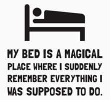 Bed Magical Place Kids Clothes