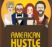 American Hustle Illustration by Gary Ralphs