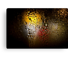 Condensation 74 - FIFA World Cup Trophy Abstract Canvas Print