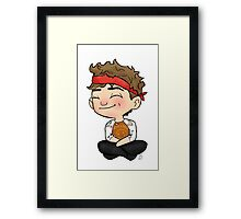 Mini Drummer Framed Print