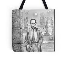 HP Lovecraft - Explorer of Strange Worlds Tote Bag
