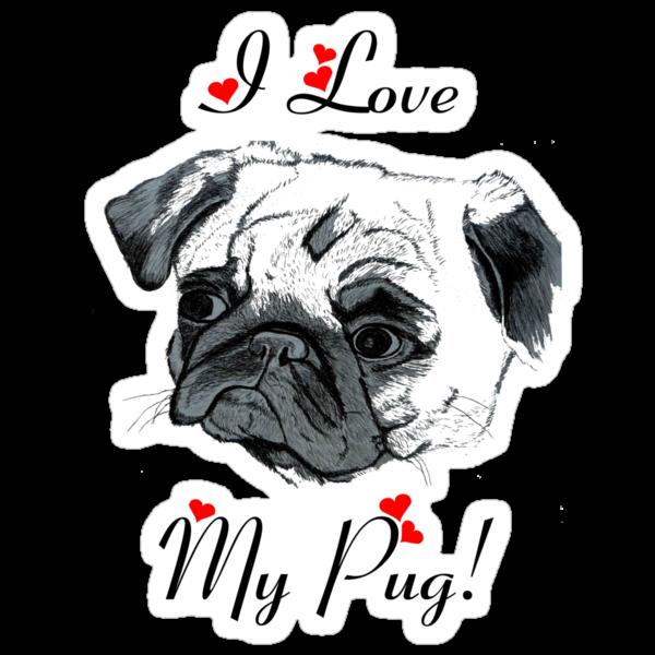 I Love My Pug!  by Patricia Barmatz