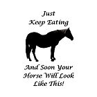 Horse Diet Encouragement  by Patricia Barmatz