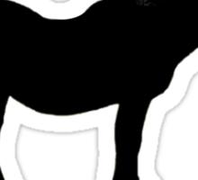 Horse Diet Encouragement  Sticker
