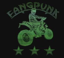 Supermoto Matrix T Shirt by Fangpunk