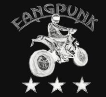 Supermoto Madness T Shirt  by Fangpunk
