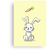 Bunny Carrot Canvas Print