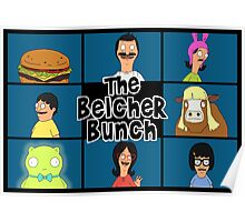 The Belcher Bunch - Bob's Burgers Poster