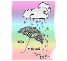 Dance in the rain Poster