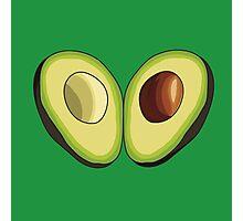 Avocado Heart Photographic Print