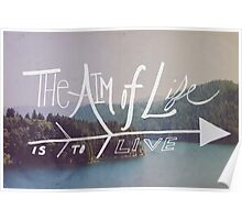 The Aim of Life Poster