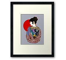 The Illustrated Woman Framed Print