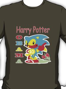 Harry Potter Obama Sonic T-Shirt