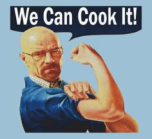 We Can Cook It!- Walter White T-Shirt