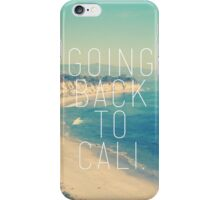 Going Back to Cali iPhone Case/Skin