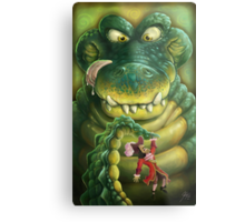 Hook's Dinner Time Nightmare Metal Print