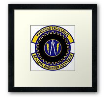 87th Civil Engineer Squadron - Pursuing Excellence Framed Print