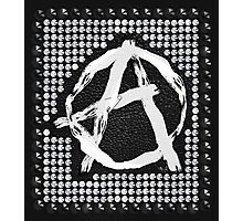 A for anarchy Photographic Print