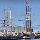 The Oosterschelde & the Lord Nelson by cullodenmist