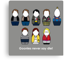 The Goonies - version 2 Canvas Print