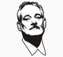 Bill Murray by robotface