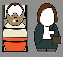 The Silence of the Lambs - version 2 (without quote) by Awesome Designing.com