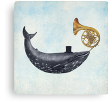 Whale Song  Canvas Print