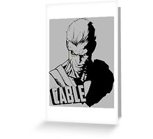 Marvel Cable - Nathan Summers Greeting Card