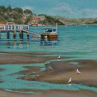 Lowtide Connells Bay by Freda Surgenor