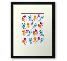 JellyFish Sugar Framed Print
