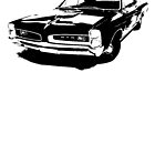 Pontiac GTO Hardtop Coupe 1966 by garts