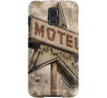 Vintage Grunge Star Motel Sign Samsung Galaxy Case/Skin