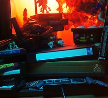 Atari 2600 - Video Games Room by Leftover Culture Review