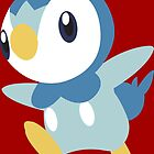 #393 Piplup by VakarianWrex