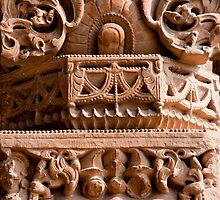 Intricate Sandstone Carvings by phil decocco