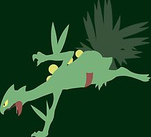 #254 Sceptile by VakarianWrex