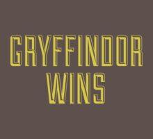 GRYFFINDOR WINS Kids Clothes