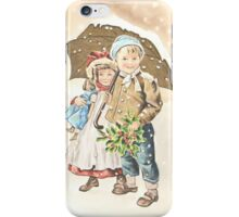 Victorian Christmas 9 iPhone Case/Skin