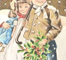 Victorian Christmas 9 Sticker