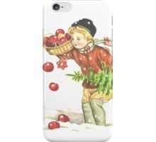 Victorian Christmas 11 iPhone Case/Skin