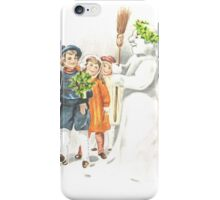 Victorian Christmas 15 iPhone Case/Skin