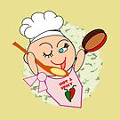 Chef at work  (4983 Views) by aldona