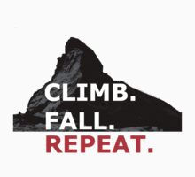 Climb. Fall. Repeat Kids Clothes