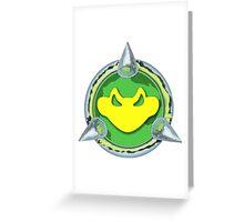 Battletoads Insignia Greeting Card