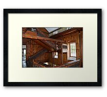 The 'Harry Potter' Staircase - Lissan House Framed Print
