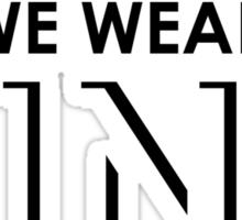 On Wednesdays We Wear Pink - Mean Girls Quote T-shirt Sticker