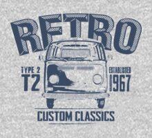NEW Men's Classic Camper Van T-shirt by NuDesign